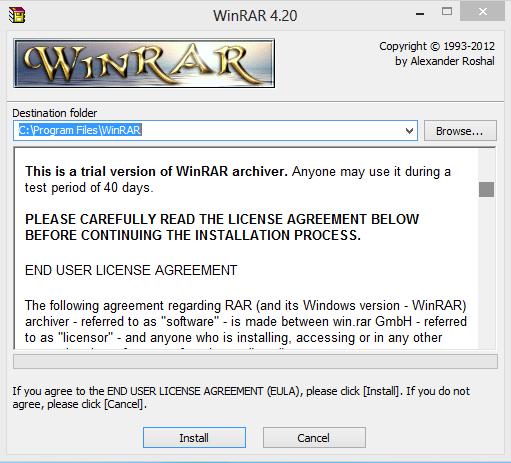 winrar 5 64 bit license key